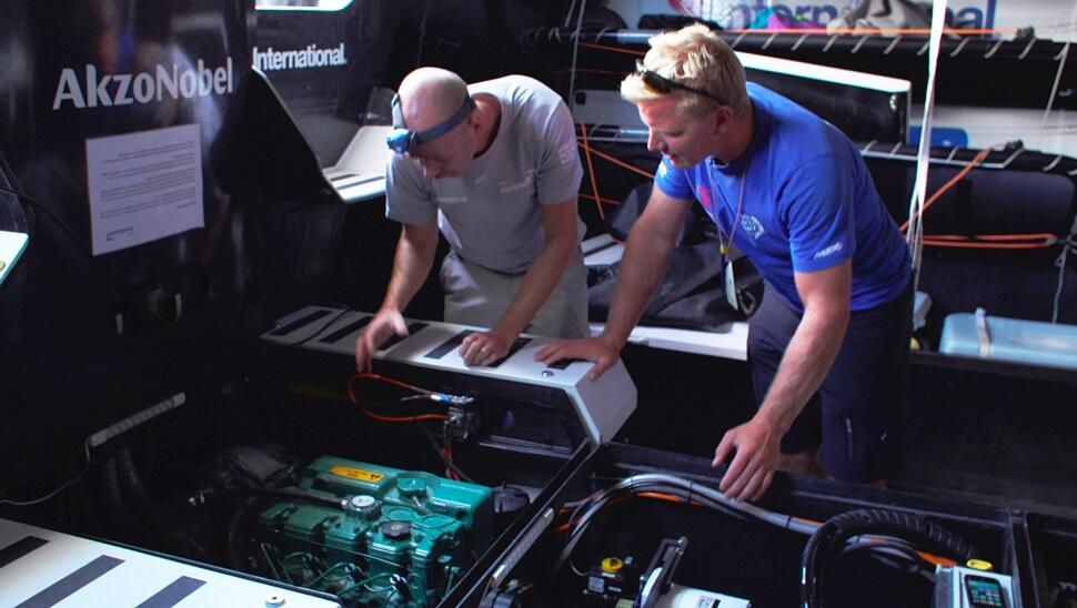 Preparing the Volvo Ocean Race engines for their toughest challenge